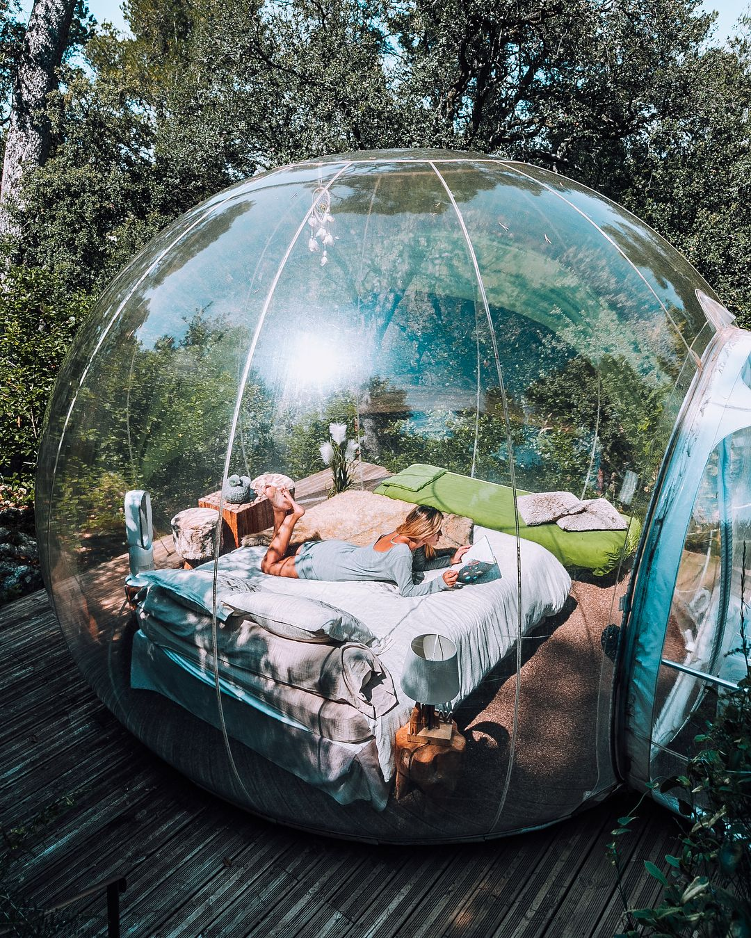 Bubble Hotel | Attrap'reves | Allauch, France | Sleep in a ...
