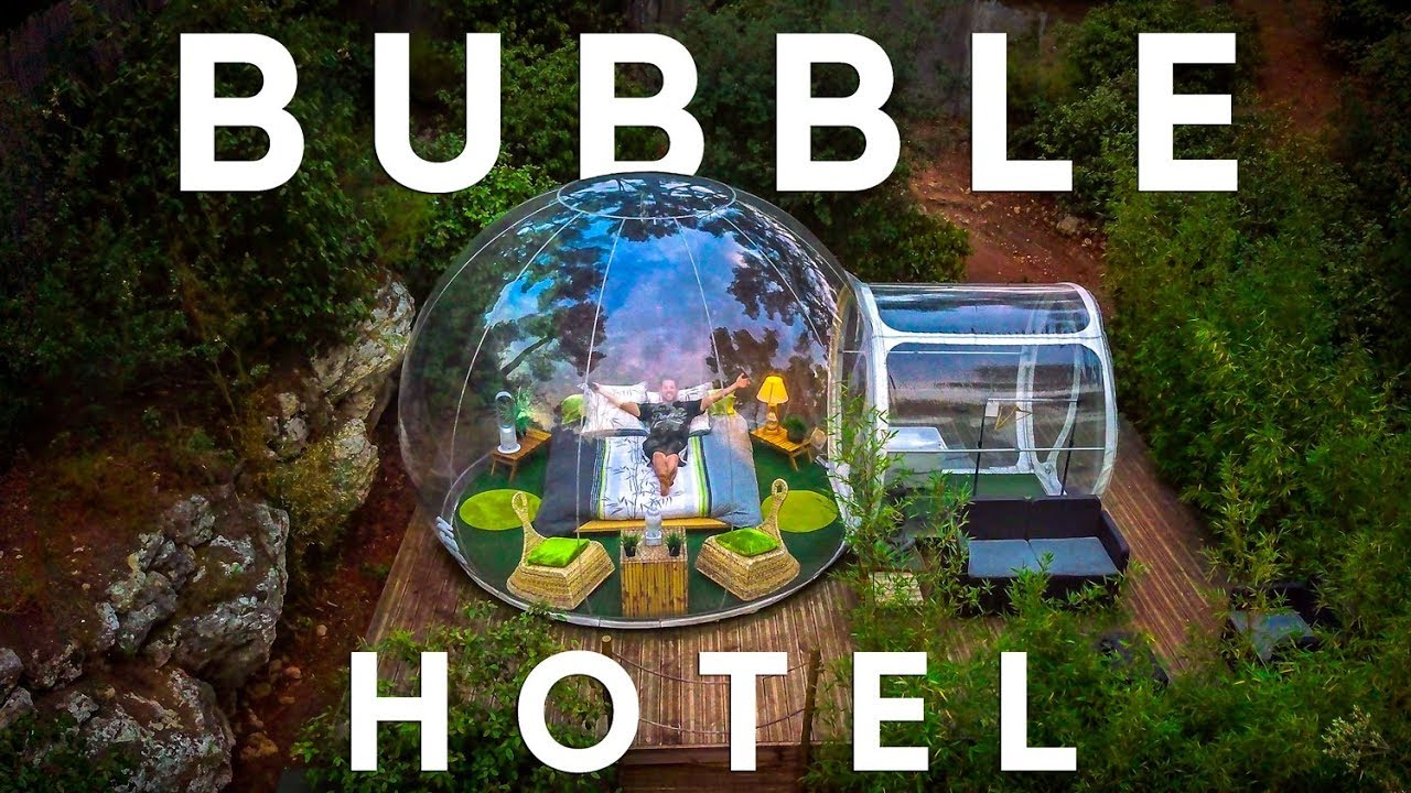 SLEEP IN A PRIVATE BUBBLE | Attrap-Reves in France