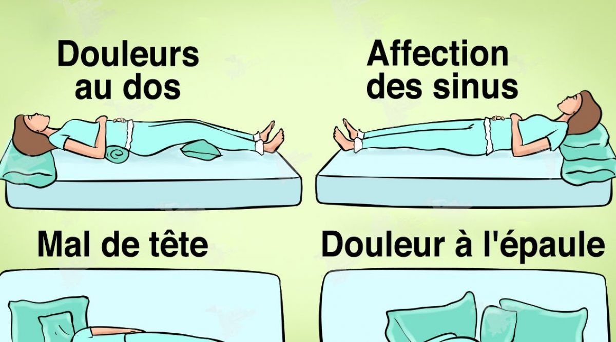 comment dormir quand on a mal au dos