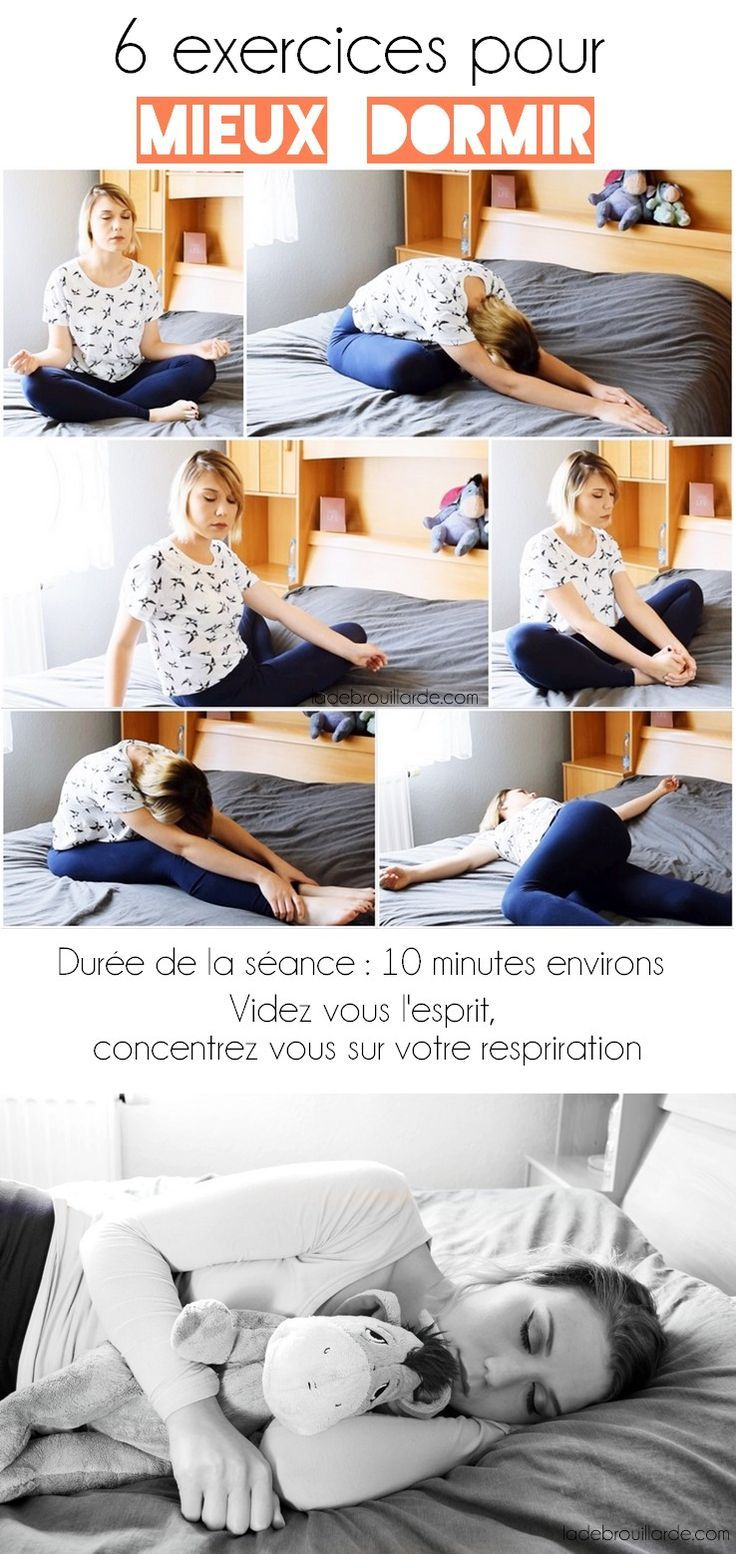 6 exercices relaxants pour bien dormir #lifestyle #sleeping ...